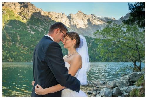 Plener - Zdjęcia ślubne. Zakopane, Morskie oko