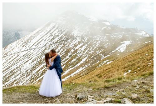 Plener - Zdjęcia ślubne - Góry