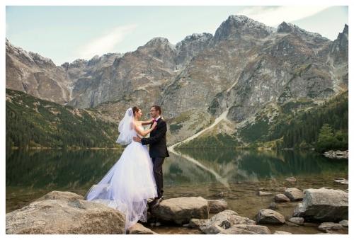Plener - Zdjęcia ślubne - Morskie Oko