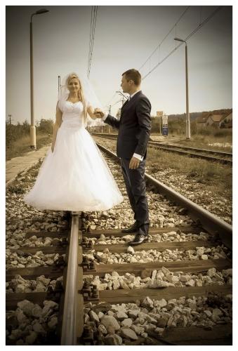 Plener - Zdjęcia ślubne - tory