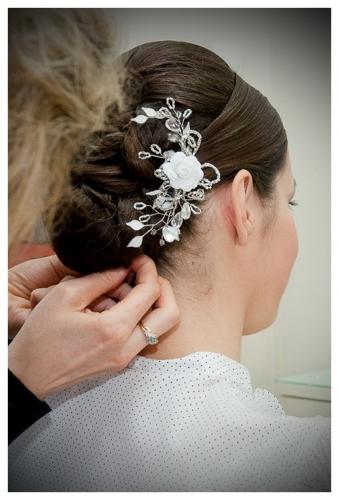 Przygotowanie do ślubu - fryzura