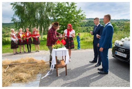 Bramka ślubna - fotograf Foto-Video Emes Kielce